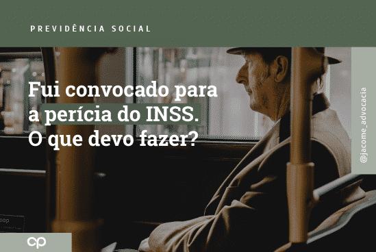 perícia do INSS