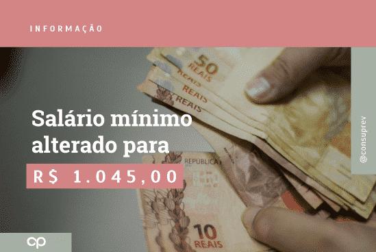 salário minimo