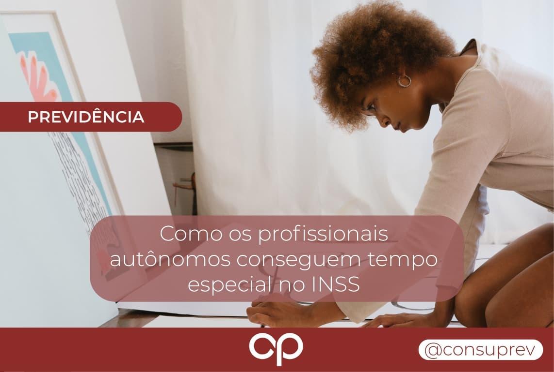 Profissionais autônomos INSS