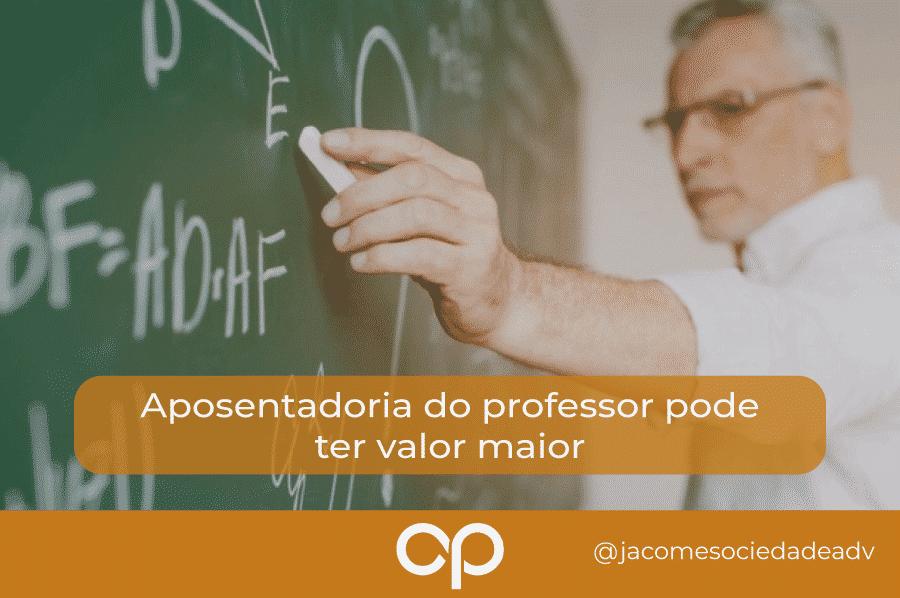 aposentadoria professor